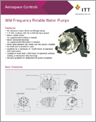 Wild Frequency Potable Water Pumps